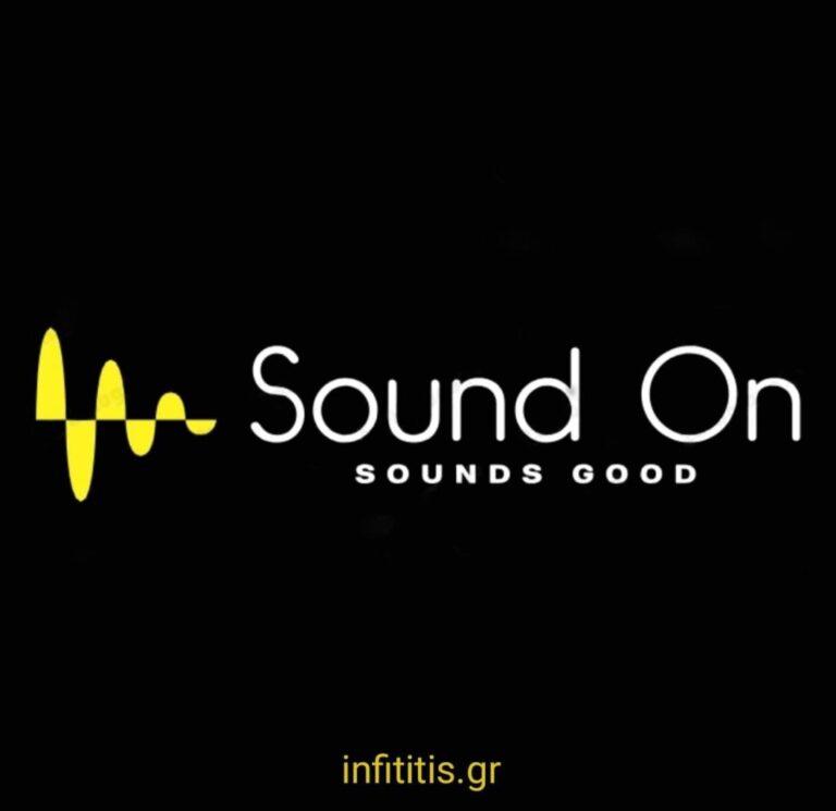 Sound On, Sounds GoodΚάθε Τρίτη στις 23.00, ένα ανατρεπτικό Talk show έρχεται για να μείνει. Οι Sound On, δηλαδήη Ευαγγελία Περγαντή και η Μαρία Βαγδούτη σας προσκαλούν να ανοίξετε τον ήχο και να τις ακούσετε.Με μία ευχάριστη διάθεση και εκπληκτικούς καλεσμένους, ήρθε ο καιρός να χαμηλώσετε τα φώτα καινα κάνετε Sound On.