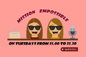 Η ραδιοφωνική σεζόν του infititis έχει ξεκινήσει, και όλοι οι εκκολαπτόμενοι παραγωγοί μας είναι εδώ, σε μία μίνι παρουσίαση, η οποία έχει σκοπό να σε κάνει να κολλήσεις! Ας τους γνωρίσουμε: