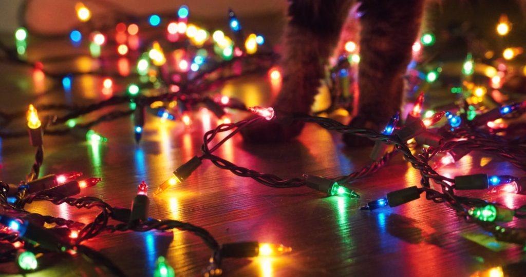 Christmas lights Photo by Thalia Ruiz on Unsplash