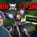 1 DEATH=1 ΣΦΗΝΑΚΙ | LoL (Επικίνδυνα Gameplays)