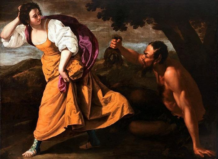 Η Νύφη Κορσίκα και ο Σάτυρος